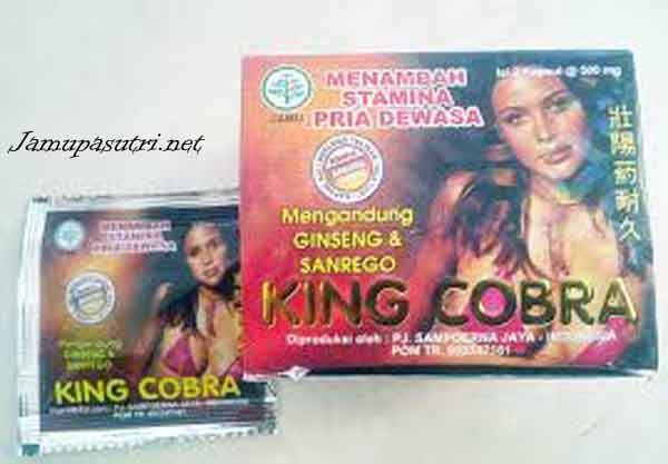 Jamu king cobra