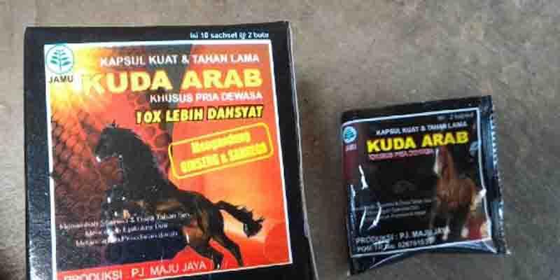 Khasiat Jamu Kuat Kuda Arab Produksi PJ Maju Jaya