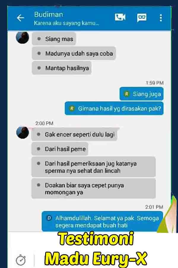 Jual Madu Eury X Di Semarang