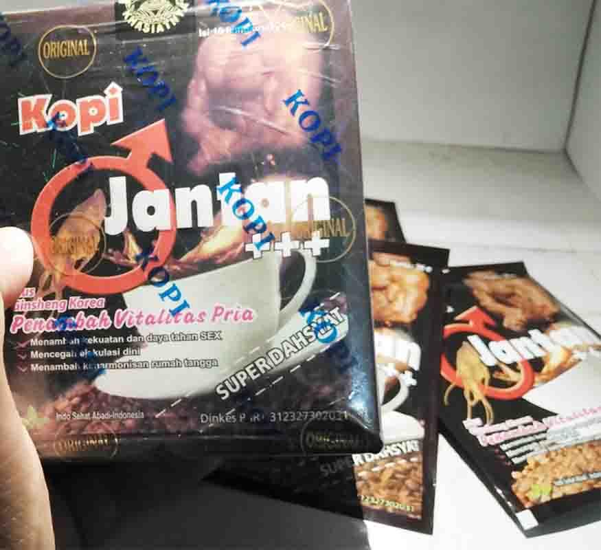 Iklan Kopi Jantan di Jakarta Terlaris