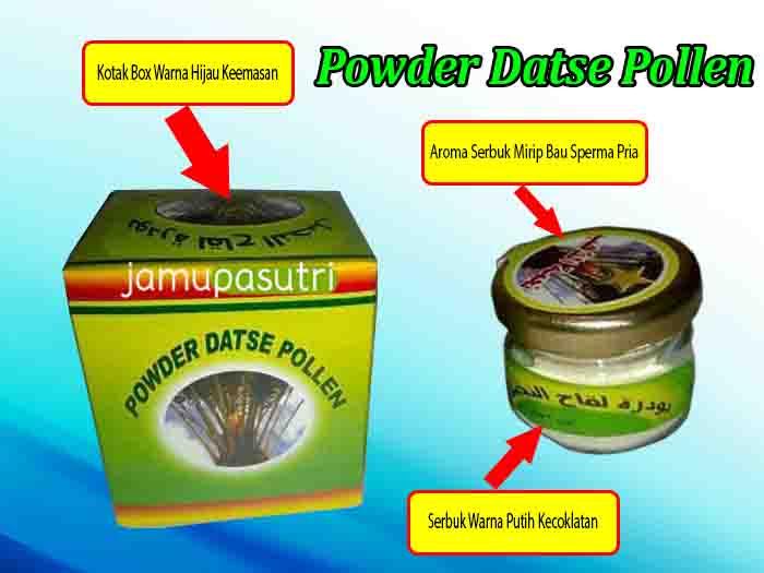 powder datse pollen asli