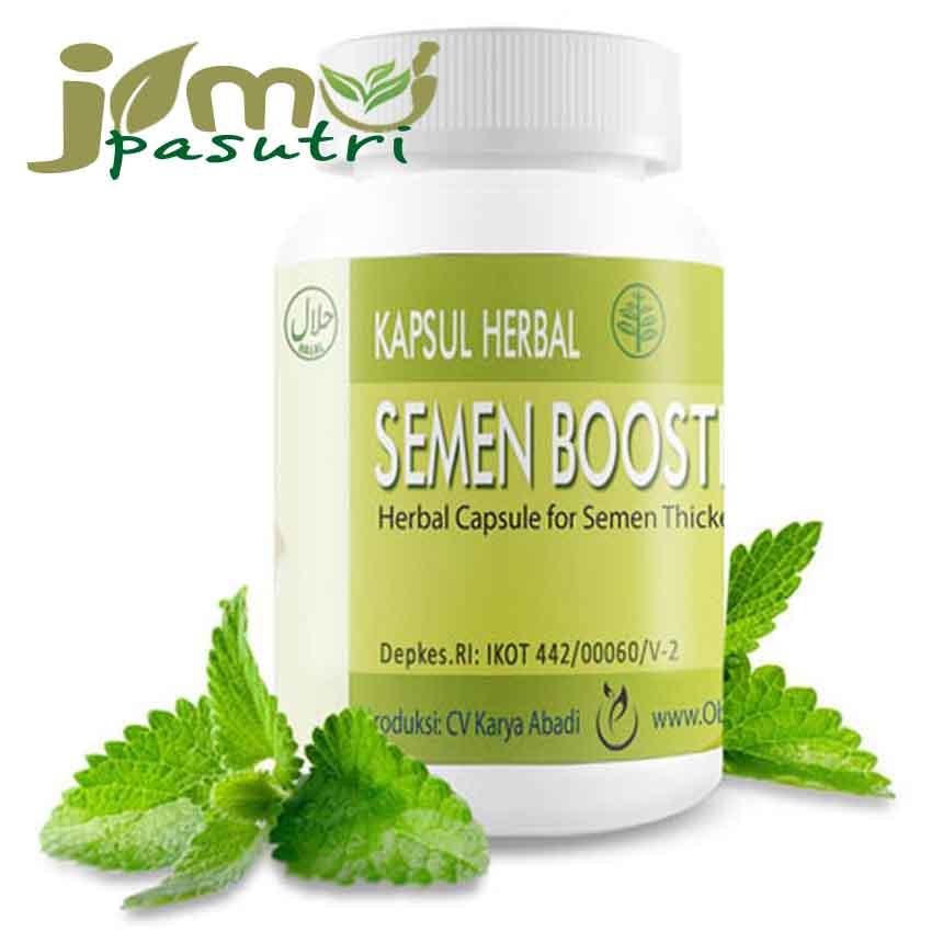 semen booster kapsul herbal