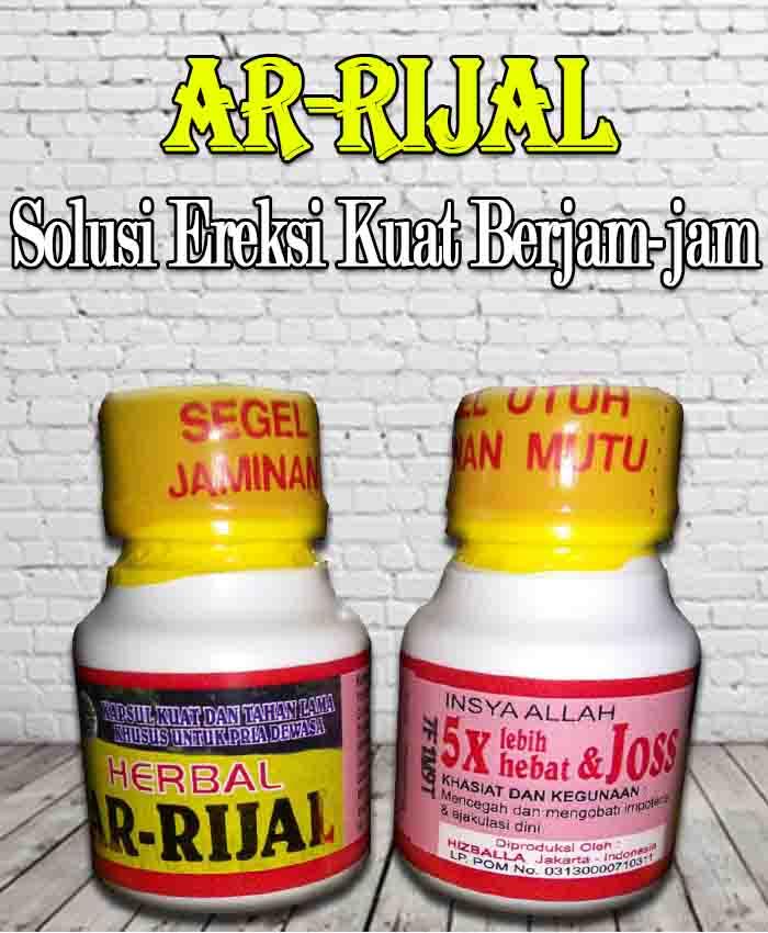 Harga Herbal Ar-Rijal Obat Kuat Ereksi Terlaris