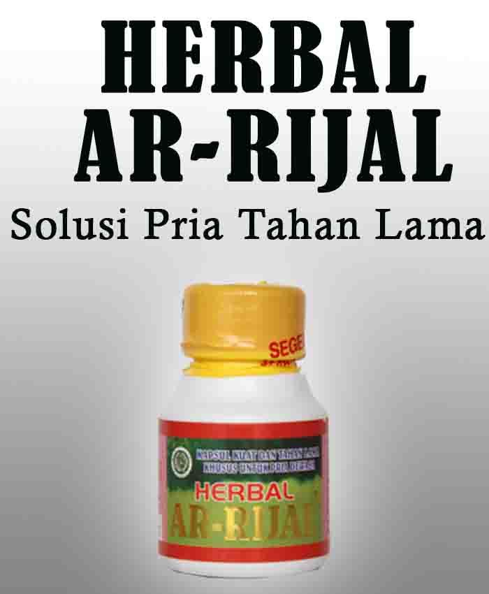 Harga Herbal Ar-Rijal Obat Kuat Vitalitas Pria Terbaik