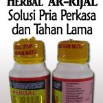 Ciri-ciri Herbal Ar-Rijal Palsu