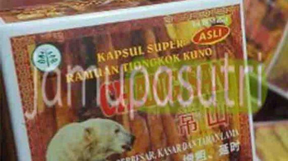 Agen Obat Kuat Chang San Cap Beruang Untuk Vitalitas Pria