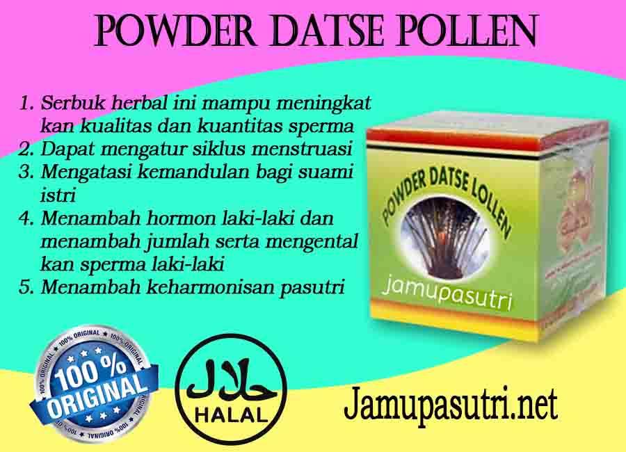 Cara Minum Obat Powder Datse Pollen Untuk Program Hamil