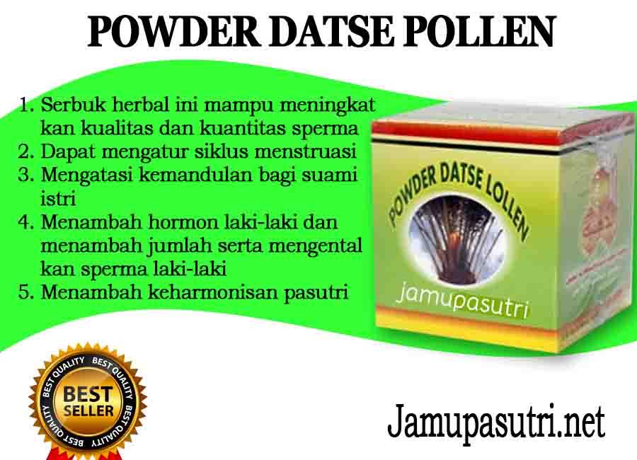 Gambar Powder Datse Pollen Penyubur Suami Dan Istri