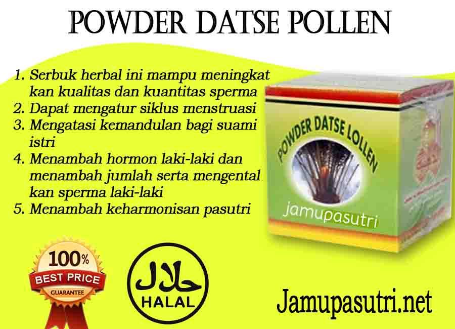 Efek Samping Powder Datse Pollen Penyubur Pria Dan Wanita