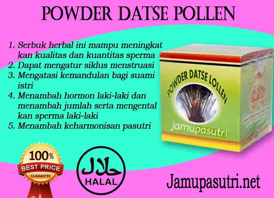 Khasiat Obat Powder Datse Pollen Penyubur Pria Dan Wanita