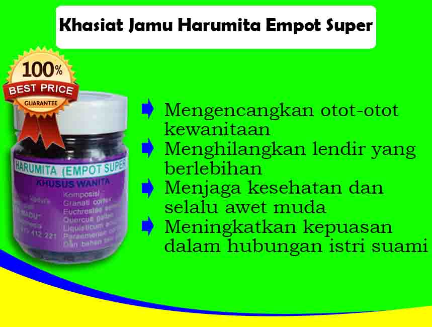 Jamu Empot-empot Ramuan Madura Harumita