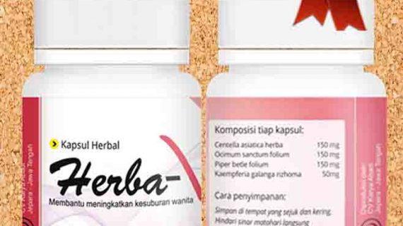 Herba V Herbal Penyubur Kandungan Wanita