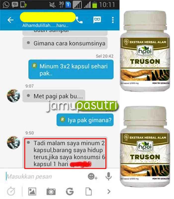 Agen Resmi Truson Di Semarang Lemah Syahwat