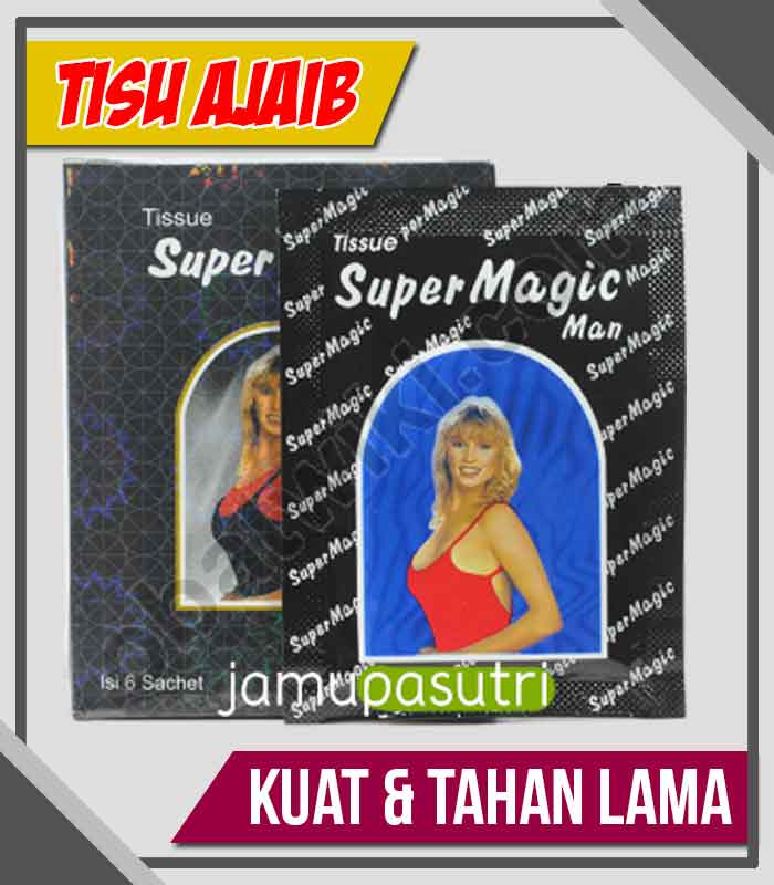 Supplier Tisu Magic Obat Kuat Oles di Nganjuk