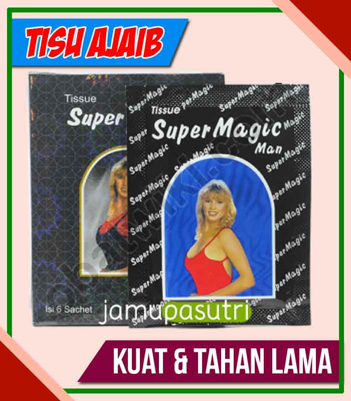 Distributor Tisu Magic Obat Kuat Oles di Pringsewu