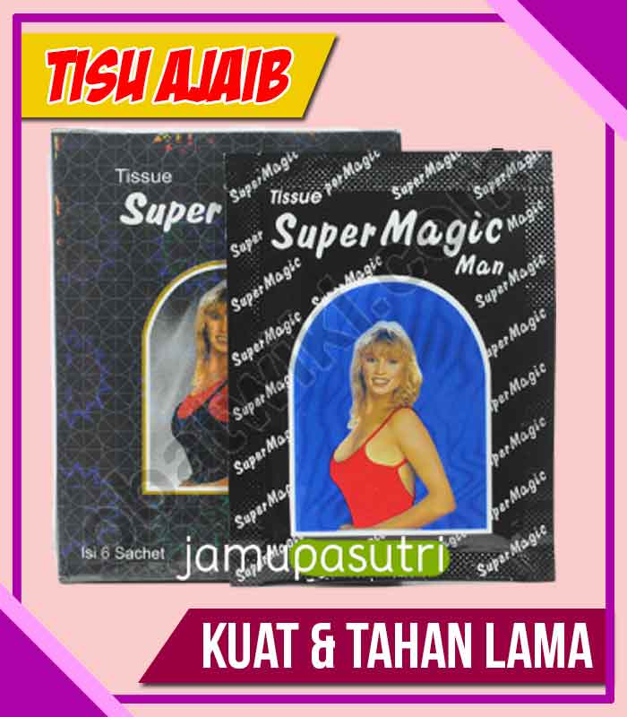 Distributor Tisu Magic Obat Kuat Oles di Dairi