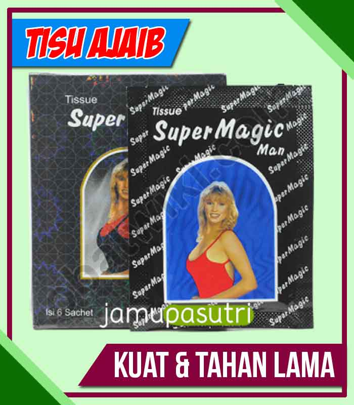 Distributor Tisu Magic Obat Kuat Oles di Bintuni