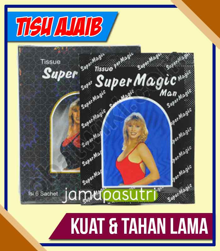 Distributor Tissue Magic Obat Kuat Oles di Sawahlunto